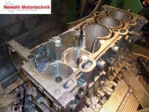 Volvo 5 Zylinder Turbo auf standfeste laufbuechsen umbauen